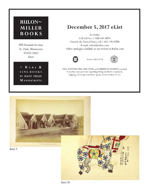 December 5, 2017 New Acquisitions