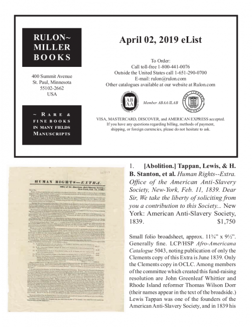 April 2, 2019 Recent Acquisitions