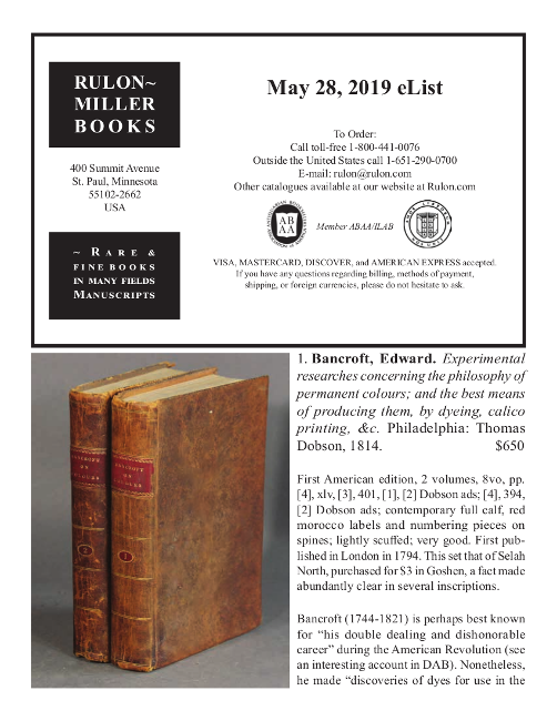 May 28, 2019 Recent Acquisitions