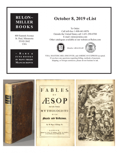 October 8, 2019 Recent Acquisitions