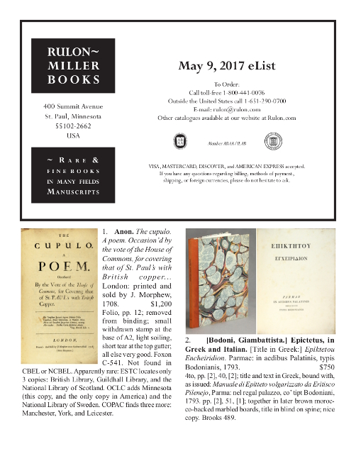 May 9, 2017 Recent Acquisitions