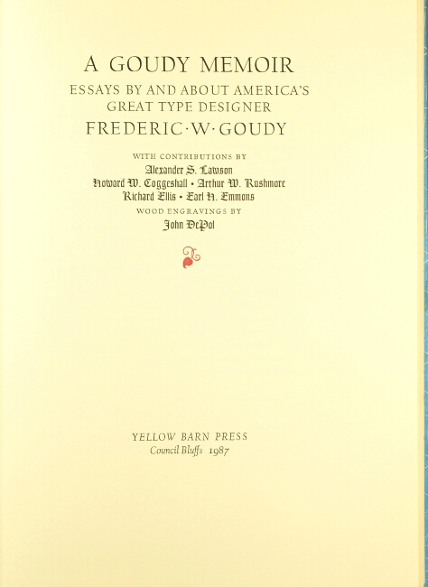 English Short Essays A Goudy Memoir Essays By And About Americas Great Type Designer Frederic  W Goudy Samples Of Persuasive Essays For High School Students also Short Essays In English A Goudy Memoir Essays By And About Americas Great Type Designer  Healthy Eating Essays
