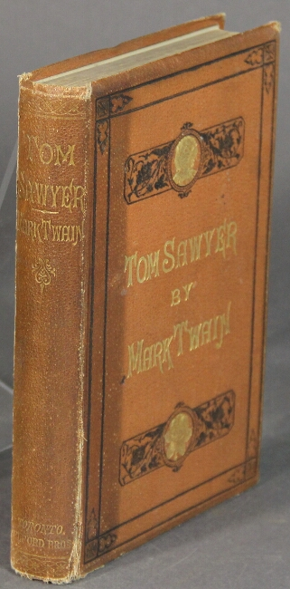 The adventures of Tom Sawyer. By Mark Twain. Samuel Clemens.