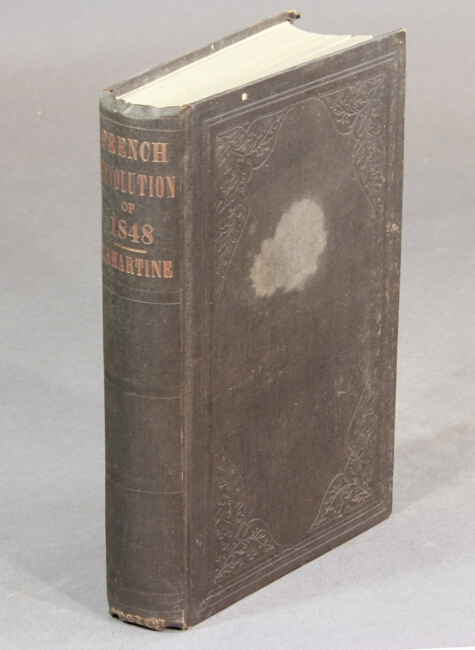 History of the French Revolution of 1848. A. de LAMARTINE.