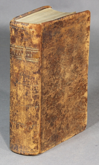 Bound volume of 18th and 19th century American sermons. NATHANIAL EMMONS.