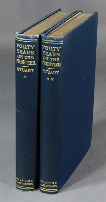 Forty years on the frontier as seen in the journals and reminiscences of Granville Stuart gold-miner, trader, merchant, rancher and politician. Edited by Paul C. Phillips. Granville Stuart.