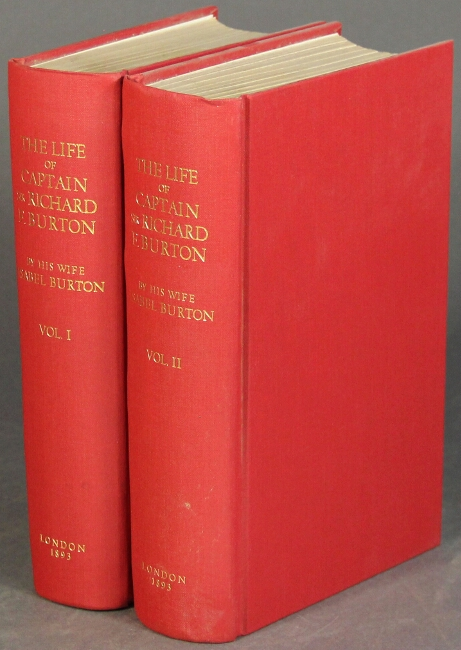 The life of Captain Sir Richard F. Burton … with numerous portraits, illustrations, and maps. ISABEL BURTON.