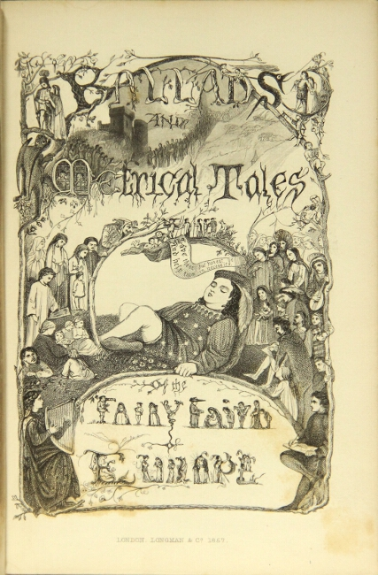 The fairy family: a series of ballads & metrical tales illustrating the fairy mythology of Europe. Archibald Maclaren.