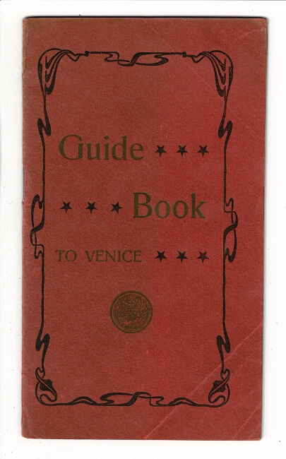 Guide book to Venice [cover title].