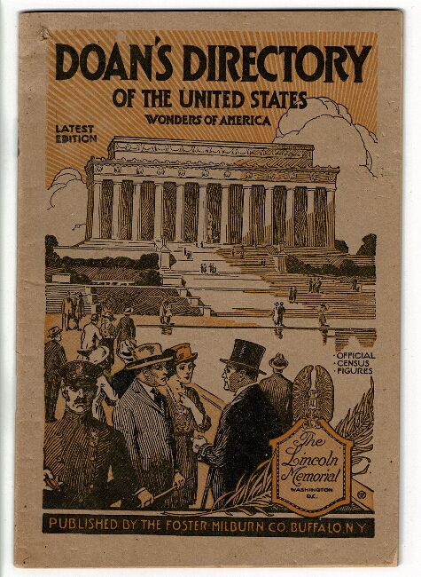 Doan's directory of the United States. Latest edition. Wonders of America