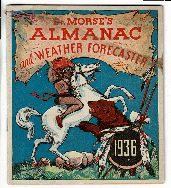 Dr. Morse's almanac and weather forecaster 1936