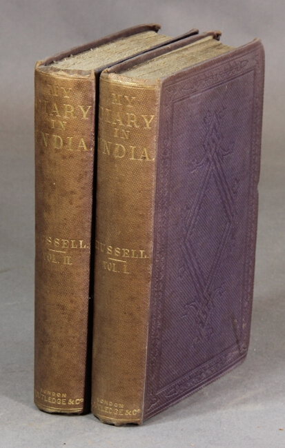My diary in India in the year 1858-9. William Howard Russell.