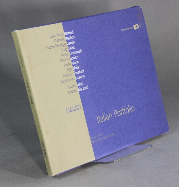 Italian portfolio. Con un testo di / With a text by Attilio Colombo