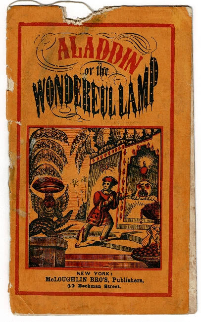 Aladdin; or, the wonderful lamp [cover title]