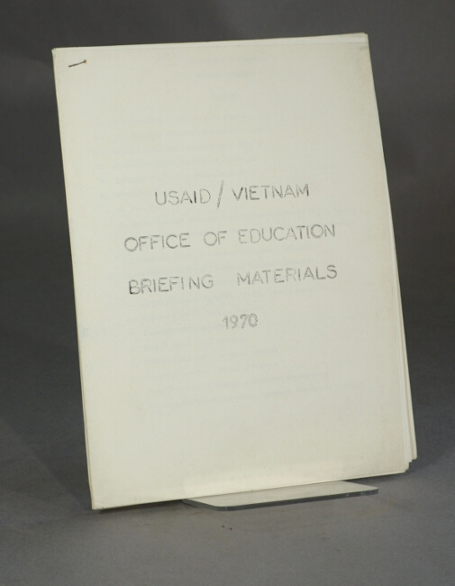 USAID/Vietnam Office of Education briefing materials [cover title]