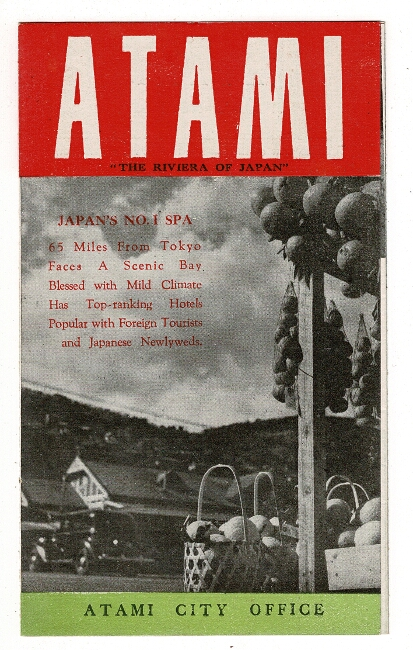 """Atami: """"the Riviera of Japan"""" [cover title]"""