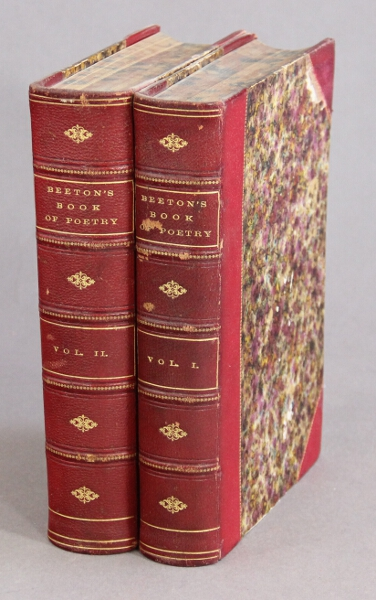 Beeton's great book of poetry: from Cædmon and King Alfred's Boethius to Browning and Tennyson. Containing nearly two thousand of the best pieces of English language; with sketches of the history of the poetry of our country, and biographical notices of five hundred of the poets. S. O. Beeton, ed.