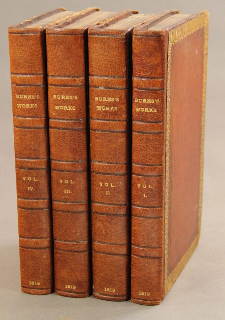 The works of Robert Burns, with an account of his life, criticism on his writings, &c. &c. As edited by James Currie. A new edition. Robert Burns.