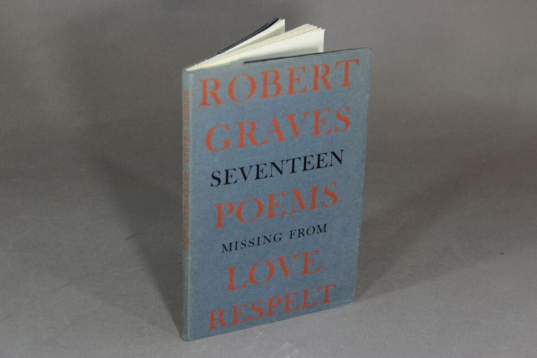 Seventeen poems missing from Love respelt. Robert Graves.