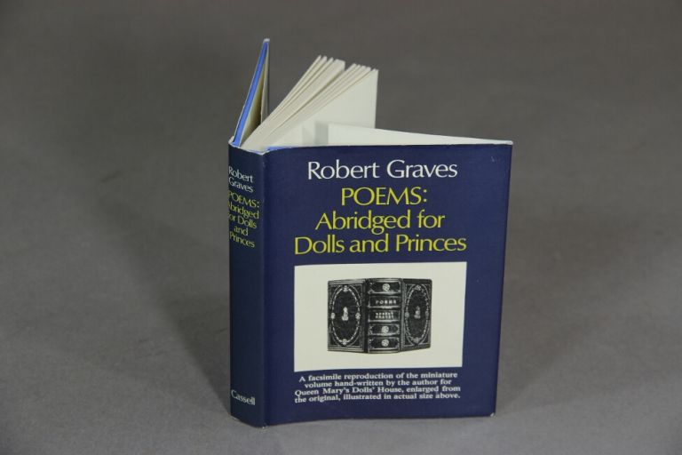 Poems, abridged for dolls and princes. Robert Graves.