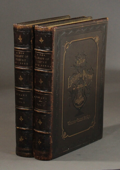 A new library of poetry and song. William Cullen Bryant, ed.