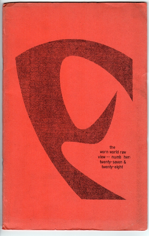 The wormwood review. Vol. 7 no. 3 & 4. Marvin Malone, ed.