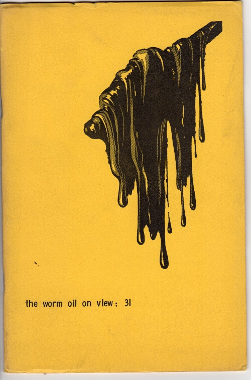 The wormwood review. Vol. 8 no. 3. Marvin Malone, ed.