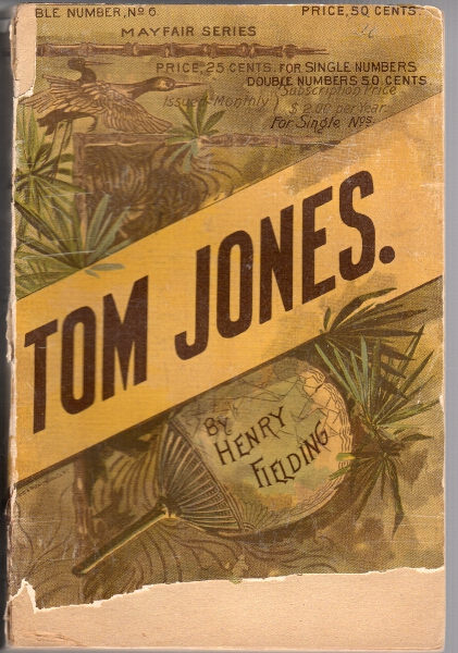 The history of Tom Jones a foundling. Henry Fielding.