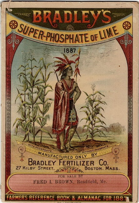 Bradley's super-phosphate of lime farmer's reference book & almanac for 1887 [cover title]