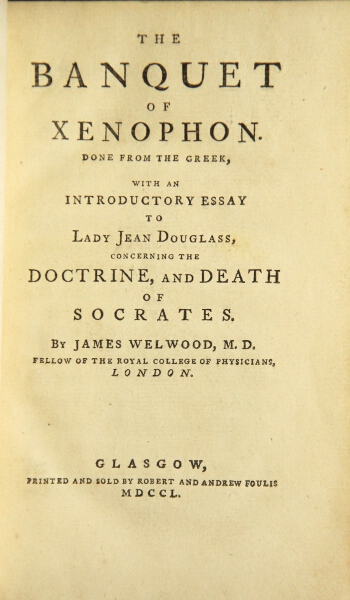 Sample High School Essay Done From The Greek With An Essay To Lady Jean Douglass Concerning The  Doctrine And Death Of Socrates By James Welwood M D Help With Writing A Business Plan Uk also Best Essay Topics For High School The Banquet Of Xenophon Done From The Greek With An Essay To Lady  Short English Essays