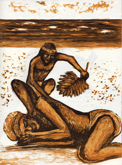 Inangaro: a Polynesian folktale of love lost. [And:] Inangaro: the legend of the coconut. M. Charlotte Johnson.