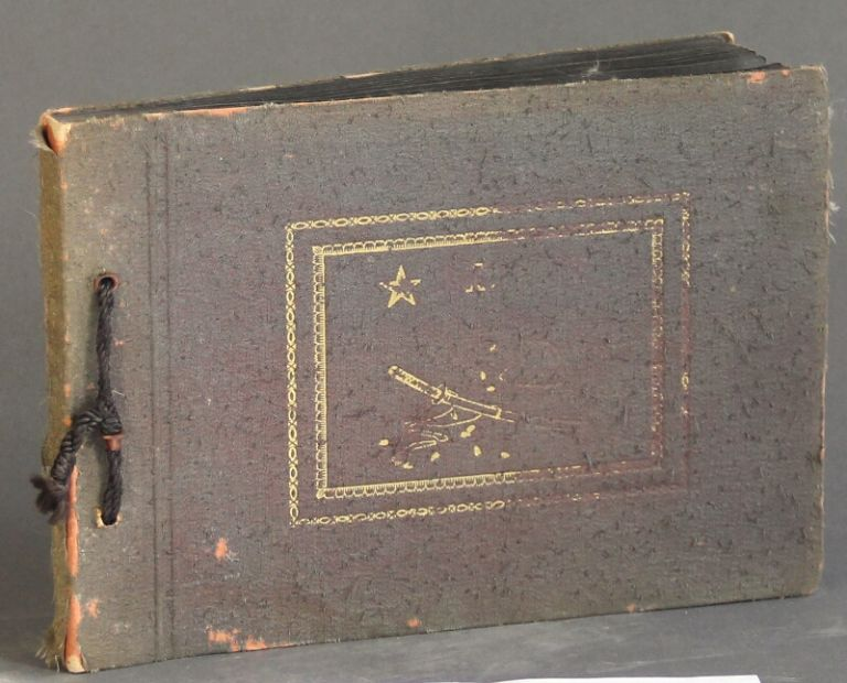 26 page photo album of Japanese military personel. T. Hata.