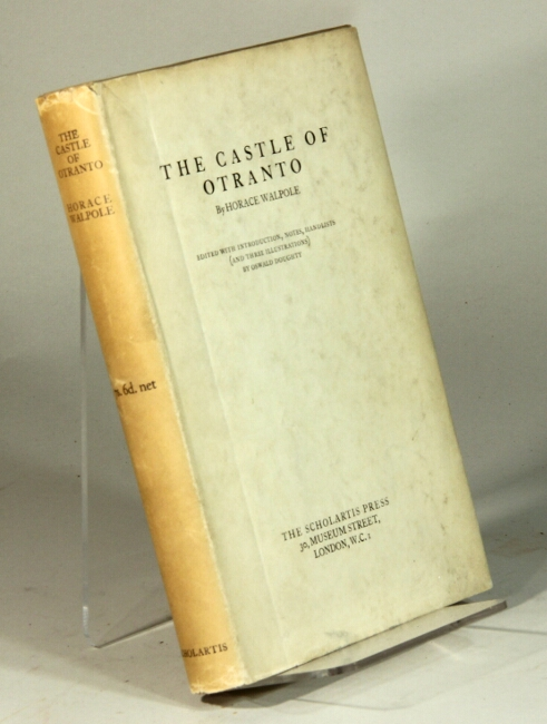 The castle of Otranto. Horace Walpole.