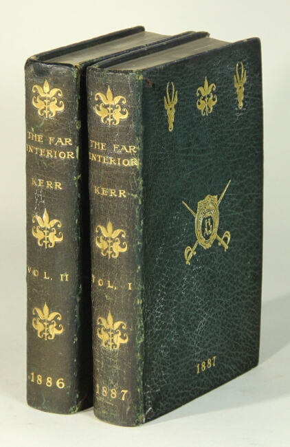 The far interior: a narrative of travel and adventure from the Cape of Good Hope across the Zambesi to the lake regions of Central Africa. Walter Montagu Kerr.