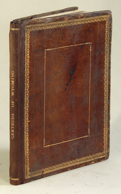 Gertrude of Wyoming; a Pennsylvanian tale. And other poems. Thomas Campbell.