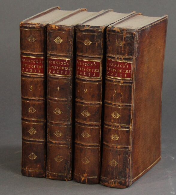 The lives of the most eminent English poets, with critical observations of their work. Samuel Johnson.