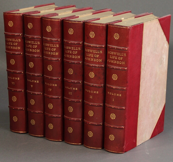 Boswell's Life of Johnson including Boswell's Journal of a Tour to the Hebrides and Johnson's Diary of a Journey into North Wales. Edited by George Birkbeck Hill. James Boswell.