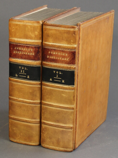 A dictionary of the English language in which the words are deduced from their originals ... The sixth edition. Samuel Johnson.