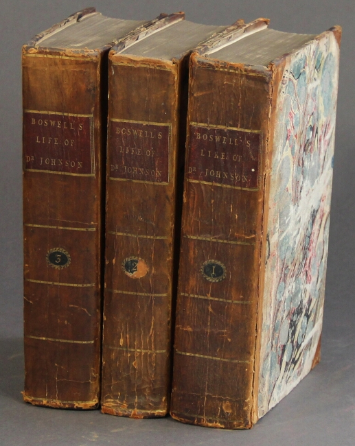 The life of Samuel Johnson, LL.D. ... The second edition, revised and augmented. James Boswell.
