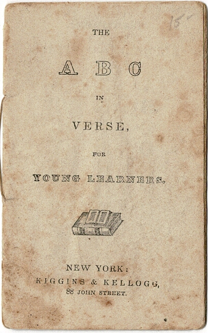The A B C in verse, for young learners
