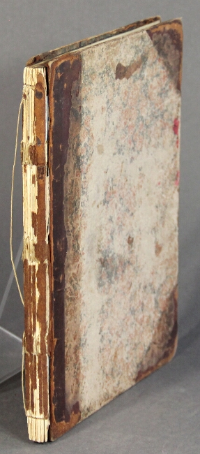 A common place book commenced Sept. twenty-ninth, 1844. Nathaniel Topliff Allen.