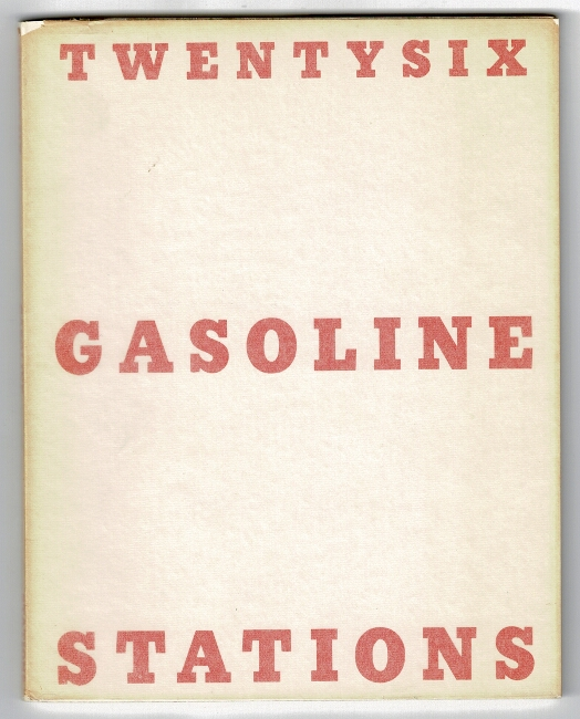 Twentysix gasoline stations [cover title]. Edward Ruscha.