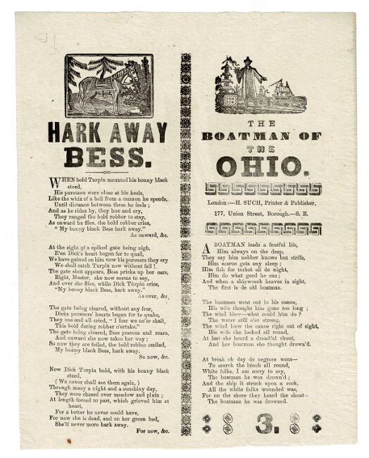 Hark away Bess. [With]: The boatman of the Ohio