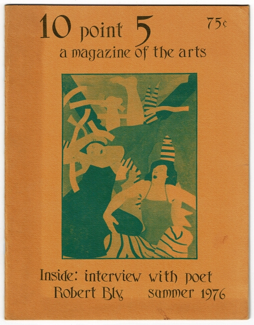 10 Point 5: a magazine of the arts. Bruce Andrews.
