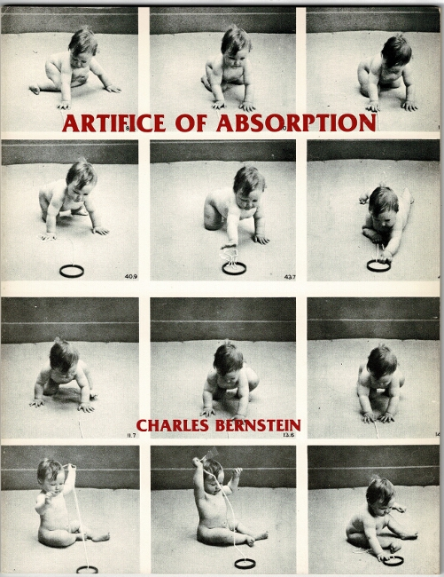 Artifice of absorption. Charles Bernstein.