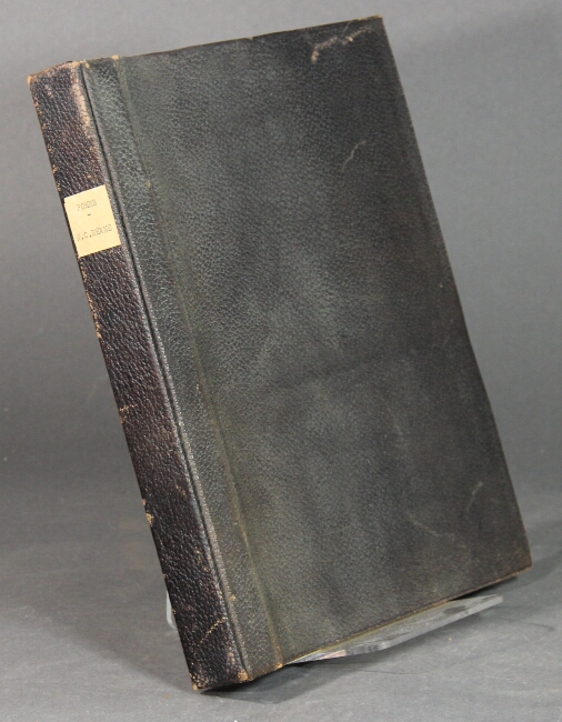 Bound notebook of printed poetry and other materials written by Deane. Nathaniel Carter Deane.