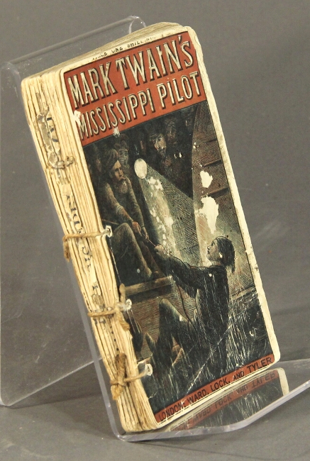 The Mississippi pilot. By Mark Twain. Samuel Clemens.