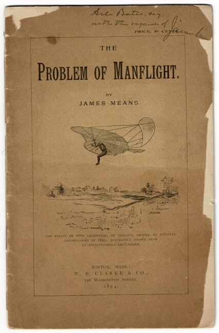 The problem of manflight. James Means.