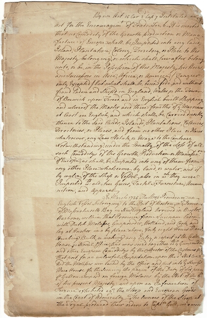 Papers relative to the seizure of the British sloop Providence in Bristol Harbor, with the decision of the Supreme Court at Newport