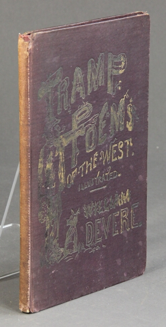 Tramp poems of the West. William DeVere.
